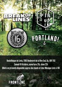 Break Up Lines, Pin Up, Portland!, Hopeful Sixteen
